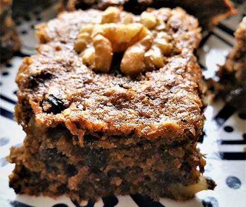 Reduced Carb Lupin Banana cake